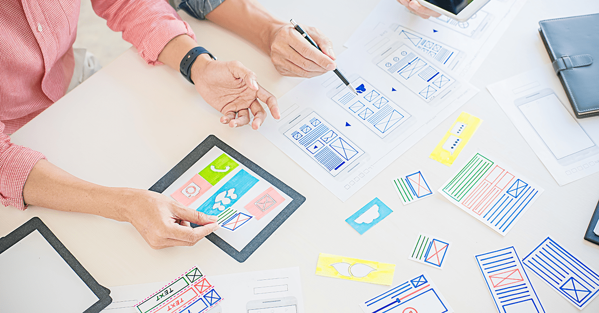 Importance of UI prototyping in application development